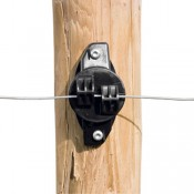 Gallagher Electric Fence W-insulator wood small (25) - G006734