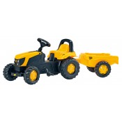 Rolly JCB Pedal Tractor & Trailer - R012619