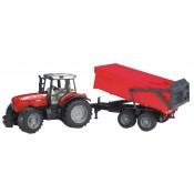 Massey Ferguson Tractor & Trailer 1:16 - BR020453