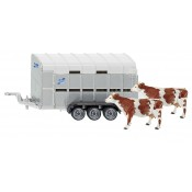 Ifor Williams Stock Trailer and Cows - S028901