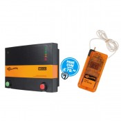 Gallagher M500 Power Plus Mains Electric Fence Energiser + Free Digital Volt Meter - G37137