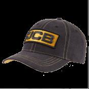JCB 3D Logo Black Cap  - JCB1847