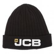JCB1847 JCB 3D Logo Black Cap