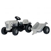 Rolly kid Little Grey Fergie Ride On Pedal Tractor - X993070612000