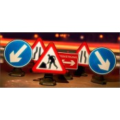 Quazar Chapter 8 Cone Sign Kit - 7001