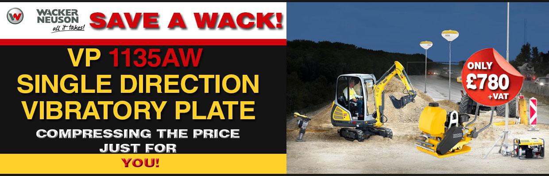 Wacker Neuson VP1135-AW