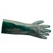Portwest Double Dipped PVC Gauntlet Glove (27cm) - A845