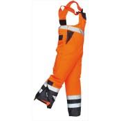 Portwest Orange Waterproof Bib And Brace - S489-OR