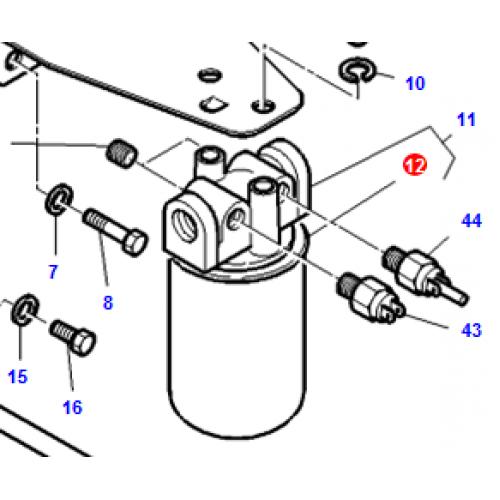massey ferguson hydraulic filter