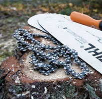 Chainsaw Bars, Chains & Files